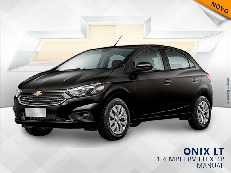 CHEVROLET ONIX 1.4 MPFI LT 8V FLEX 4P MANUAL full