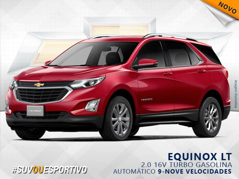 CHEVROLET EQUINOX 2.0 16V TURBO GASOLINA LT AUTOMÁTICO full